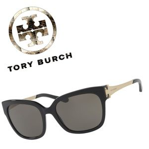 TORY BURCH TY7110 Logo Gradient Lens Sunglasses